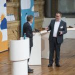 Bild: Diskussionsrunde mit Frank Türling