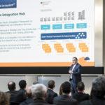 Gestartet wurde das Winter Summit 2018 mit einem Vortrag von Frank Türling zum Projekt Open Integration Hub