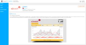 e2watch auf SmartOrchestra Plattform