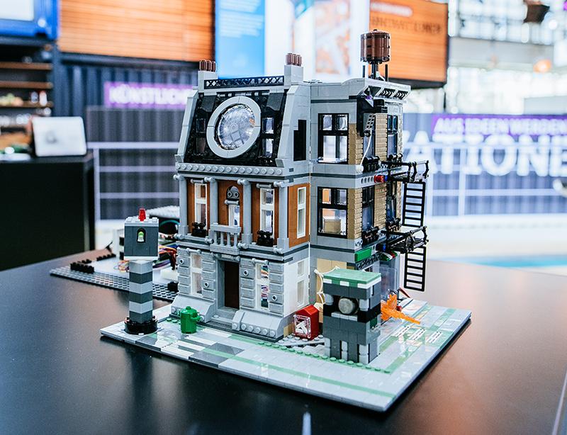 Unser Lego Haus auf der Hannover Messe